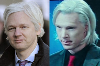 fifth estate Cumberbatch Assange